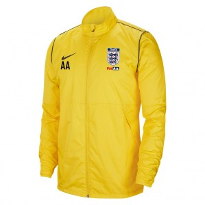 Nike Park 20 Repel Rain Jacket Tour Yellow-Black-Black