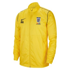 Nike Repel Park 20  Rain Jacket Tour Yellow-Black-Black