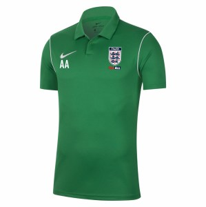 Nike Dri-fit Park 20 Polo Pine Green-White-White