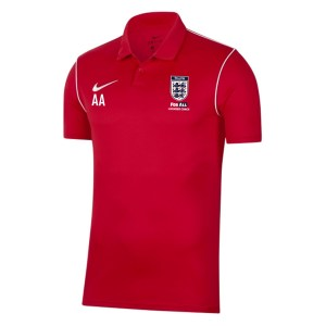 Nike Dri-fit Park 20 Polo University Red-White-White