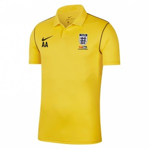 Nike Dri-fit Park 20 Polo Tour Yellow-Black-Black