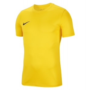 Nike Park VII Dri-FIT Short Sleeve Shirt Tour Yellow-Black