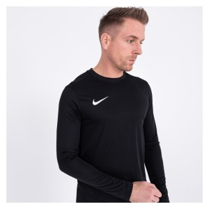 Nike Park VII Dri-FIT Long Sleeve Football Shirt Black-White