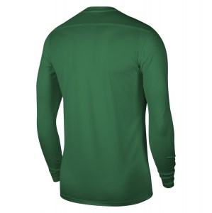 Nike Park VII Dri-FIT Long Sleeve Football Shirt Pine Green-White