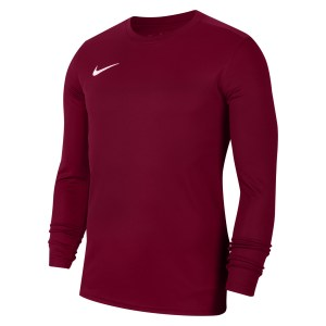 Nike Park VII Dri-FIT Long Sleeve Football Shirt Team Red-White