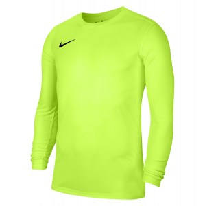 Nike Park VII Dri-FIT Long Sleeve Football Shirt Volt-Black
