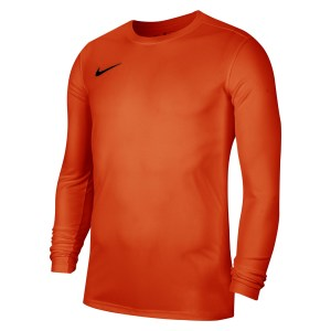 Nike Park VII Dri-FIT Long Sleeve Football Shirt Safety Orange-Black