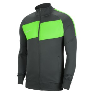 Nike Dri-FIT Academy Pro Knitted Jacket Anthracite-Green Strike-White
