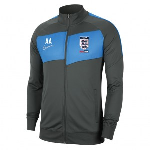 Nike Dri-FIT Academy Pro Knitted Jacket Anthracite-Photo Blue-White