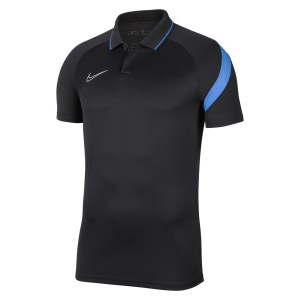 Nike Dri-FIT Academy Pro  Polo Anthracite-Photo Blue-White