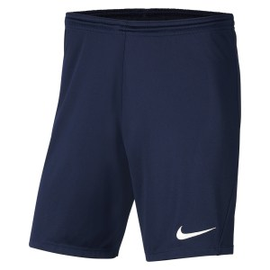 Nike Park III Shorts Midnight Navy-White