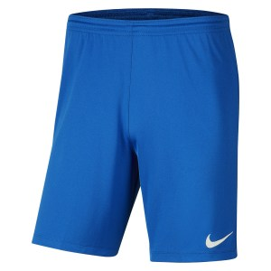 Nike Park III Shorts Royal Blue-White