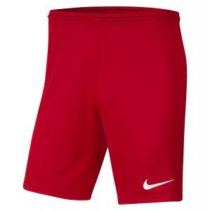 Nike Park III Shorts University Red-White