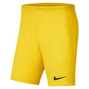 Nike Park III Shorts Tour Yellow-Black