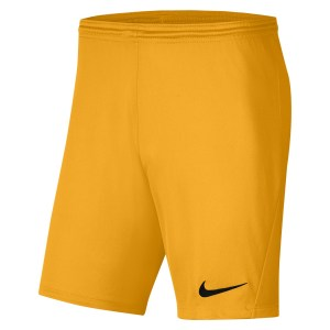 Nike Park III Shorts University Gold-Black