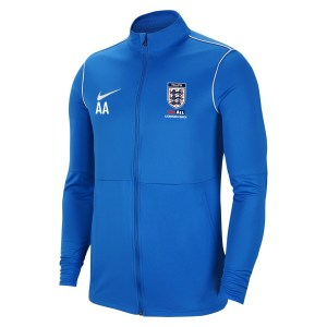Nike Dri-fit Park 20 Knitted Track Jacket Royal Blue-White-White