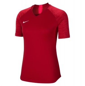 Nike Womens Dri-FIT Strike Short Sleeve Jersey (W) University Red-Bright Crimson-White