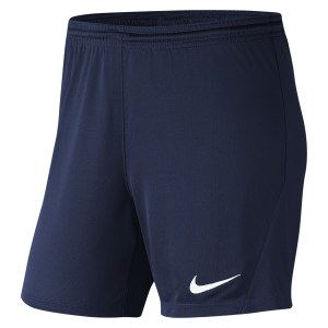 Nike Womens Park III Shorts (W) Midnight Navy-White