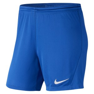 Nike Womens Park III Shorts (W) Royal Blue-White