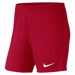Nike Womens Park III Shorts (W) University Red-White