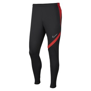 Nike Dri-FIT Academy Pro Tech Pants Anthracite-Bright Crimson-White