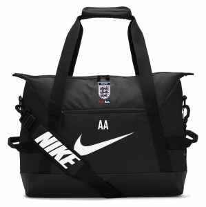Nike Academy Team Duffel Bag (Small) Black-Black-White