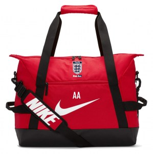 Nike Academy Team Duffel Bag (Small) University Red-Black-White