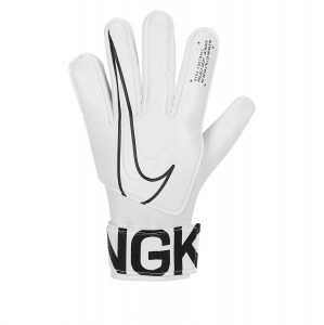 Nike Kids Match Goalkeeper Gloves White-Black