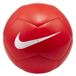 Nike Pitch Team Training Ball Bright Crimson-White