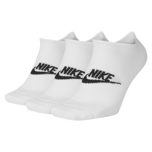 Nike Sportswear Everyday Essentials No-Show Socks (3 Pairs) White-Black