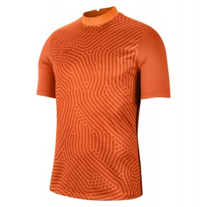 Nike Gardien III Goalkeeper Short Shirt Shirt Total Orange-Brilliant Ornge-Team Orange