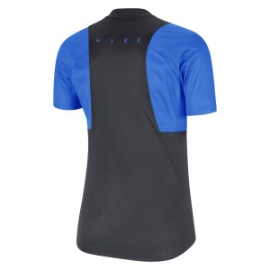 Nike Womens Dri-FIT Academy Pro Short Sleeve Top (W) Anthracite-Photo Blue-Photo Blue-White