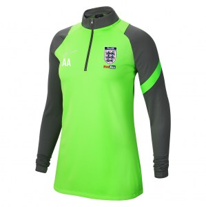 Nike Womens Dri-FIT Academy Pro Midlayer (W) Green Strike-Anthracite-White