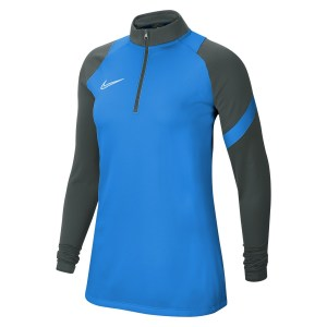Nike Womens Dri-FIT Academy Pro Midlayer (W) Photo Blue-Anthracite-Photo Blue-White