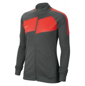 Nike Womens Dri-FIT Academy Pro Tracksuit Jacket (W) Anthracite-Bright Crimson-White
