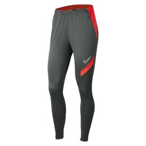 Nike Womens Dri-FIT Academy Pro Tech Pants (W) Anthracite-Bright Crimson-White