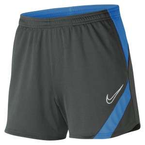 Nike Womens Dri-FIT Academy Pro Shorts (W) Anthracite-Photo Blue-White