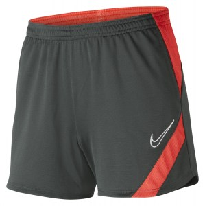 Nike Womens Dri-FIT Academy Pro Shorts (W) Anthracite-Bright Crimson-White