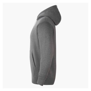 Nike Team Club 20 Fleece Hoodie (M) Charcoal Heathr-White-White