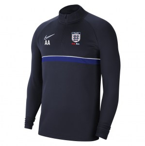 Nike Academy 21 Midlayer (M) Obsidian-White-Royal Blue-White