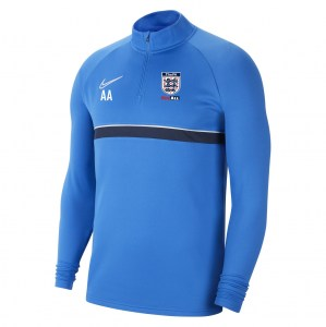 Nike Academy 21 Midlayer (M) Royal Blue-White-Obsidian-White