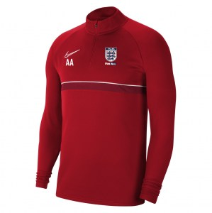 Nike Academy 21 Midlayer (M) University Red-White-Gym Red-White