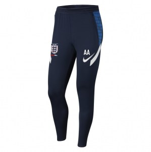 Nike Strike Tech Pants (M) Obsidian-Royal Blue-White-White