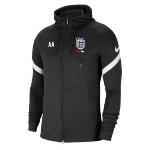 Nike Strike Full-Zip Hooded Jacket (M) Black-White-White