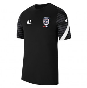 Nike Strike Training Tee (M) Black-Anthracite-White-White
