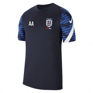 Nike Strike Training Tee (M) Obsidian-Royal Blue-White-White