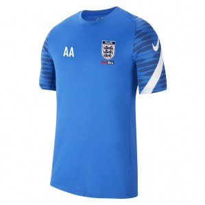 Nike Strike Training Tee (M) Royal Blue-Obsidian-White-White