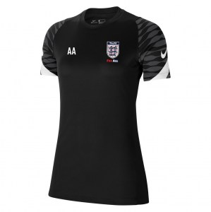 Nike Strike Training Tee (W) Black-Anthracite-White-White
