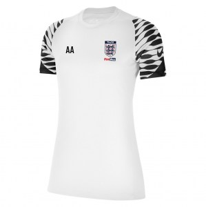 Nike Strike Training Tee (W) White-Black-Black-Black