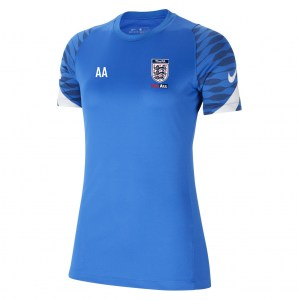 Nike Strike Training Tee (W) Royal Blue-Obsidian-White-White